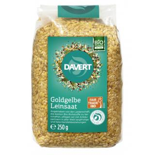 Goldgelbe Leinsaat Fair Trade IBD 250g